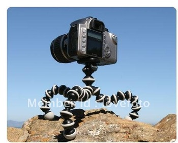 Gorillapod Type Flexible Ball octopus Leg Mini Digital Camera Tripod Flexible Tripod middle size Free Shipping