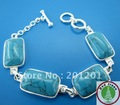 Fashion imitation gemstone bracelet charms,blue turquoise bracelet jewelry,valentine's / birthday / Christmas / lovers' Gifts!