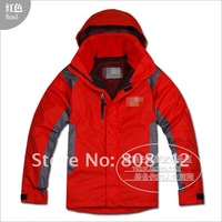Free shipping Wholesale mens waterproof jackets mens ski suit jacket suit jacket warm jacket