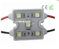 waterproof  led module, red color backlights led module SMD 5050 WM-RH005-12V-02, 1.2W ,DC12V input,
