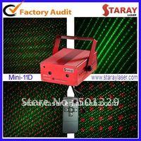 Mini laser  disco light with remote control