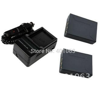 Digital Li-ion 2x Battery + Charger for AIGO AHD-Z50 BP-170 BP170 CB-170 AHD-S6 CB170