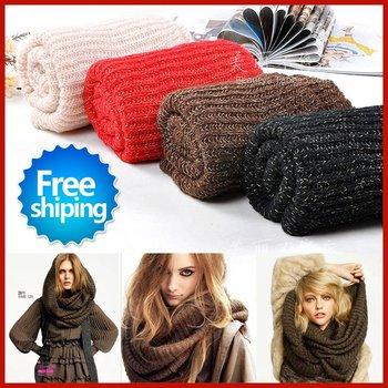 Free Shipping Autumn and winter! Hot Fashion Mohair scarf shawl long women's scarves woman muffler neckerchief cravat UW008