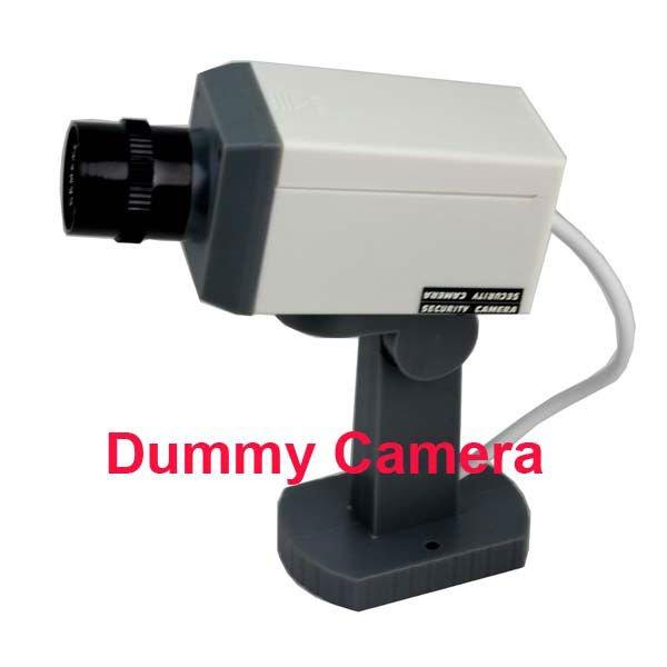 nouveau fake dummy caméras cctv caméra avec la lumière de mouvement de sécurité photonélimination s54