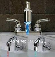 Fantastic  Led Faucet Light  No Battery Need Temperature Sensor Interior Decoration l For BathroomKitchen