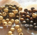 W189 free shipping 1000 pcs/lot,wholesale 6 mm new style  wood bead loose beads,necklace bead,bracelet bead