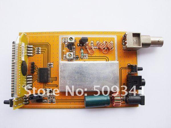0.5W 500mW Fm PLL Stereo Transmitter broadcast station PCB 87-108Mhz CZH-05A PCB(China (Mainland))