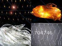 Yellow 120 LED NET light Christmas decorative lights LED lights 10pcs/lot