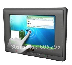 "Free shipping,Lilliput 7"" Surface Acoustic Wave Touchscreen Monitor with HDMI & DVI Input,659GL-70NP/C/T(China (Mainland))"