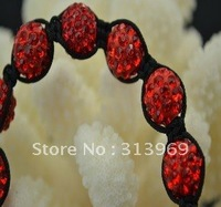 New arrival Hot Sale Unisex Shamballa Ball bracelet with Tresor Czech Crystal Disco bead