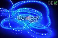 blue led strip, waterproof flexible led strip,300pcs 3528 led flexible strip,5meters/roll,FPCB width 5mm, WF-12W60H-3508