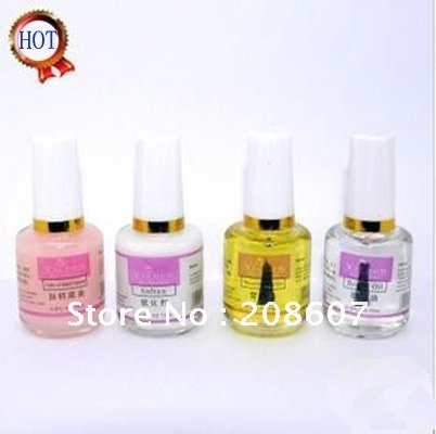 Nail Polish Base Topcoat Brighten Oil Softener Cuticle Oil 4 Styles Nail Varnish Nail Art Manicure Tool Wholesale Freeshipping(China (Mainland))