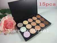 1pcs MC brand makeup Professional Make-up 15 color Concealer Palette dropship free shipping