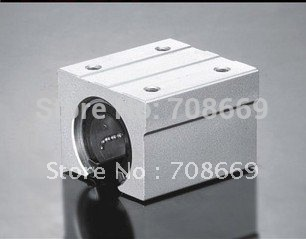 4pcs SBR20UU CNC Linear Ball Bearing Support Unit,pillow blocks