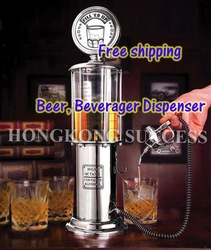 Free ship Single Novelty Beer Beverage Alcohol Liquor Water Dispenser Machine Mini Gas Station Shots Pump Gun Nozzle 250BER(Hong Kong)