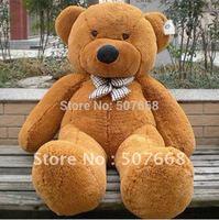 "Teddy Bear Stuffed Toys Plush Toys Soft Toys 230CM White & Brown Huge 91"" fre shipping"