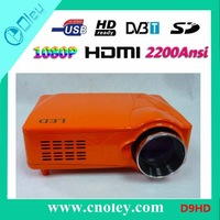 Free Shipping 2200Ansi High Brightness LED Projector