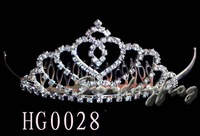 Fast Free Shipping! Gorgeous Alloy With Austria Rhinestones Wedding Bridal Tiara/ Combs/ Headpiece -HG0028