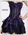 Freeshipping!!! sexy Corset compatible with skirt  have Lace,Lace-up,Underwear,Lingerie Wholesale Retail 30025