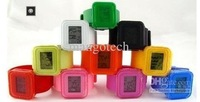 30pcs jelly watch Silicone Watch Hot Sale Anion negative Wrist Bracelet sports watch from mangotech