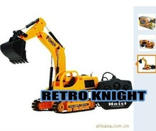 @@Retro Knight@@Free Shipping Eight channel car RC Excavator&Wired remote control truck dump truck,rc truck(China (Mainland))