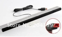 wholesale 10pcs/lot free shipping New Arrival Wired Infrared Ray Sensor Bar for Nintendo Wii Remote