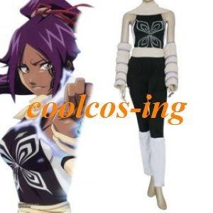Bleach Yoruichi Shihouin Cosplay Costume