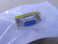 10pcs,RS232 9 pin Female to Female connctor gender changer