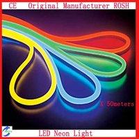 AC110V/220V/230V  Waterproof LED Neon Light 80LED/M 50m/Lot