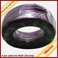 4 Pin Cable for RGB LED Strip,180m/Lot,180m long [Housing Lighting]