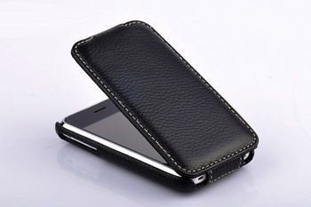 ANKI Original Flip Leather Case Cover Full Skin Pouch Protector For iPhone 3G/3GS