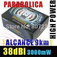 Kasens 660000N High Power USB 2.0 WiFi Wireless Network Adapter 3 Antenna WEP WPA Password Crack 3000mW 802.11b/g/n 150Mbps