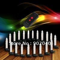 Free Express(5 days)  10 pcs remote control Christmas candle lights/Christmas  tree LED candles/Christmas Decorative lights