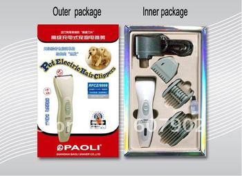 Newly Professional pet electric Hair Clippers (Ceramic cutter) Pet razor 10 pcs /lot