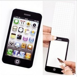 10pcs/lot memo pad /Notebook Notepad for iphone office Paper notes Free shipping HO0055(China (Mainland))