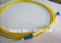 Sale patch cord  fiber optic patch cord single mode LC/PC-LC/PC,simplex SM 9/125 PVC 3.0mm, 3M