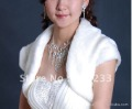 2012 Free shipping wholesale and retail fashion newest styles feather Bridal shawl ,bridal wedding Bolero,wedding Jacket,WJ6172