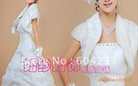 2012 Free shipping wholesale and retail fashion newest styles feather Bridal shawl ,bridal wedding Bolero,wedding Jacket,WJ6174