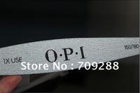 Nail File 80pcs/lot Nail Art File150/180 Wood Material Double-Side Nail Buffer For Nail Manicure & Pedicure Tool Freeshipping