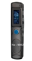 Free shipping!!Professional Super Slim style, Portable 4GB Voice Recorder