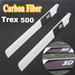 430mm Carbon Fiber blade for Trex 500 RC Helikopter 3D(China (Mainland))