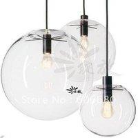 Free shipping 30CM European Modern Creative Glass Ball pendant light pendant lamp ceiling lamp( contemporary home decoration)