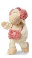 NICI Lovely Pink Headset Sheep Medium Cotton Plash Doll Toy Gift 35 cm