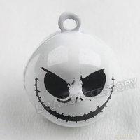 15pcs/lot Christmas Ornament Charm Skull Copper Lovely Jingle Bells Fit Festival/Party/Pet's Decoration 270061