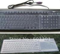 Universal desktop keyboard protector, universal computer keyboard skin, tabletop keyboard cover, 100pcs/lot free shipping