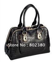 Free shipping real cowskin leather shoulder bag handbag/ladies fashion bag