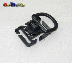 12pcs Pack Plastic Sternum Buckles Rocker Bar D-Ring Holder For Backpack Webbing 19mm & 25mm #FLC077-B(China (Mainland))