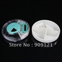 Super Practical New Pill Holder Alarm Box Medicine Case LED Timer Reminder Portable Pill Holder