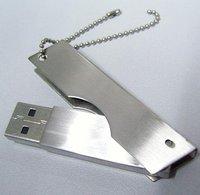 1gb/2gb/4gb/8gb/16gb metal usb drive,free shipping +free metal  box,10 pieces/lot,logo print