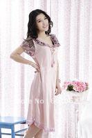 free shipping Top quality Sexy Lingerier silk dress+g string set sleepwear uniform sexy kimono sleepwear uniform underwear